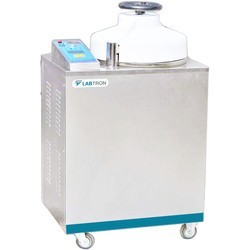 LVA-E10 Vertical Laboratory Autoclave with Top Load (35 L/ 134 °C)