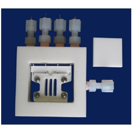 BT-115 Celda de Conductividad de 4-Electrodos (para Pilas Combustible de Electrochem Inc.)