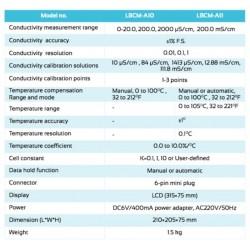 LBCM-A11 Medidor de Condutividade de Mesa