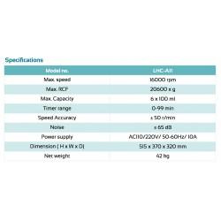 LHC-A11 Haematocrit Centrifuge
