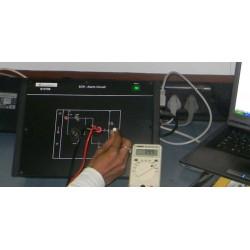 Scientech2706 Plataforma para Circuito de Alarma SCR