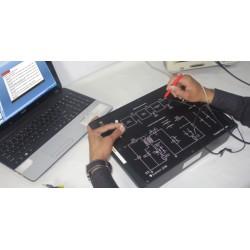 Scientech2730 Techbook para Estudio Convertidor Delantero