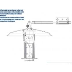 HD 9006 Sonda de Temperatura do Vácuo com Tela de Proteção
