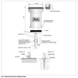 HD 2013 Pluviómetro con Cubeta Basculante