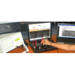 Scientech2110 TechBook para Técnicas de Modulación y Demodulación PAM / PPM / PWM