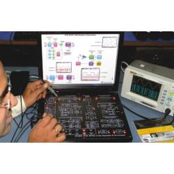 Scientech2802 TechBook Modulador y Demodulador CVSD, DPCM, PCM