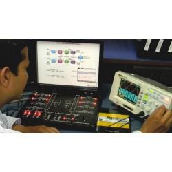 Scientech2804 TechBook Transmisor y Receptor TDM PCM de 4 Canales