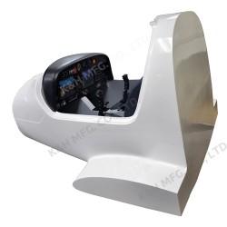 AT-F1003 Sistema de Simulador de Vôo do Diamond DA40 com Modelo Fuselage