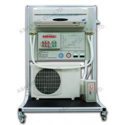 KR-212 Sistema de Entrenamiento de Aire Acondicionado de Calefacción / Refrigeración de Tipo Individual