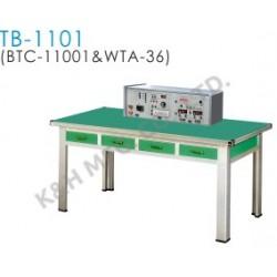 TB-1101 Banco de Entrenamiento (BTC-11001 Consola del Banco Superior + WTA-36 Mesa de Trabajo)