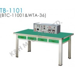 TB-1101 Training Bench (BTC-11001 Bench Top Console + WTA-36 Working Table)