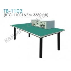 TB-1103 Banco de Entrenamiento (BTC-11001 Consola del Banco Superior + EM-3380-1B Mesa de Trabajo)