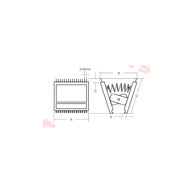 itc-14a 14 pin ic test clip - maranata-madrid sl