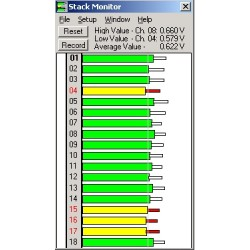896 Sistema de Monitoramento de Bateria o Pilhas