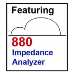 880 Analizador de Respuesta de Frecuencia