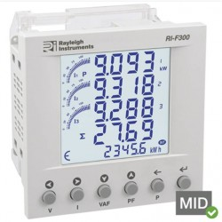 RI-F300 easywire Single and Three Phase Multifunction Energy Meter
