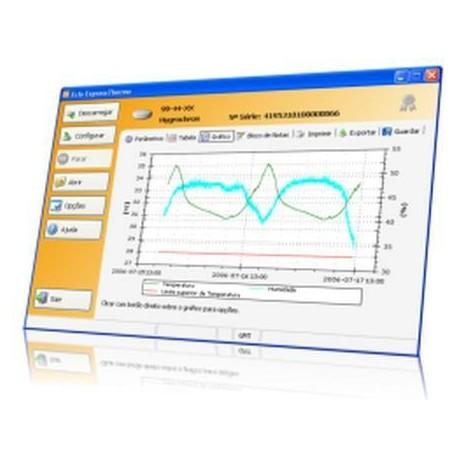 ExpressThermo-Basic Software para Registradores iButton (Licencia y Cables)