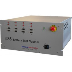585 Battery Test System (8 channels expandable to 32) (6 current ranges from 50 μA to 5 A)