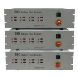 580 Sistema de Prueba de la Batería (8 canales ampliable a 32) (rango de corriente de 10 μA a 1 A)