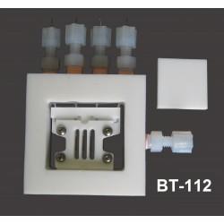 BT-112 Celda de Conductividad con 4 Electródos (para Pilas Combustible Scribner y Fuel Cell Technologies)