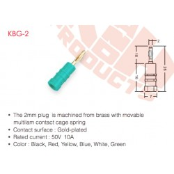KBG-2 (Enchufe de 2 mm)