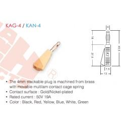 KAG-4/KAN-4 (Enchufe de 4 mm)