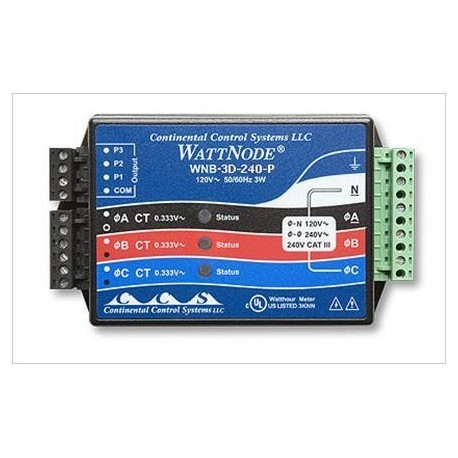"""T-WNB-3D-240 Transducer KW/h 3 Phases Delta"""""""""""