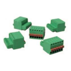 YY-FLEX-CON-SET (Juego de 5 Conectores Verdes, 5 pin)
