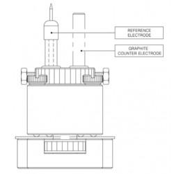 PTC1 Kit de Placa de Pilha de Teste