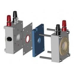 PCELL2 Kit de Pila Fotoelectroquímica (2 Ventanas Ópticas)