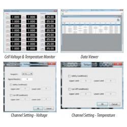 cXSoftware Software para Sistema de Control de Tensión / Temperatura de la Pila
