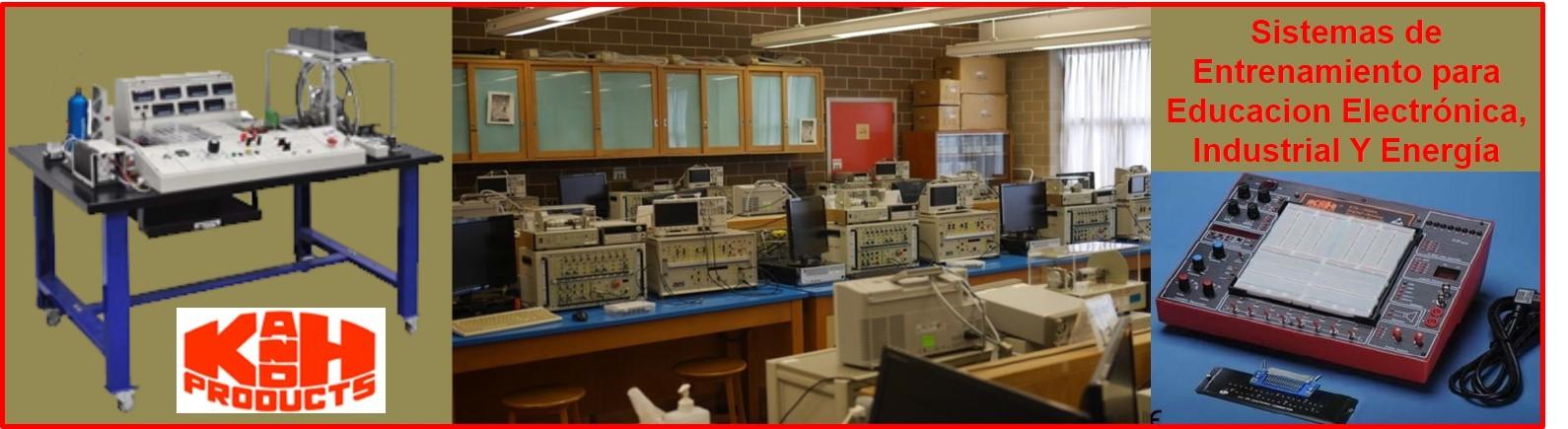 Sistemas De Entrenamiento Para ElectrónicaEducacional, Industrial Y Energía